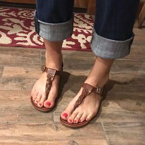 Steve Madden leather sandals. Size 8